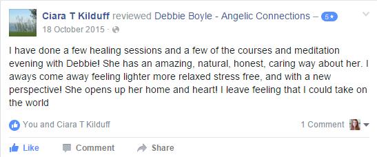 Debbie Boyle Angelic Connections Testimonial 15