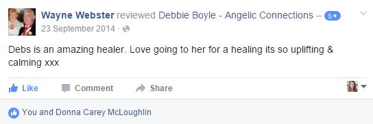 Debbie Boyle Angelic Connections Testimonial 5