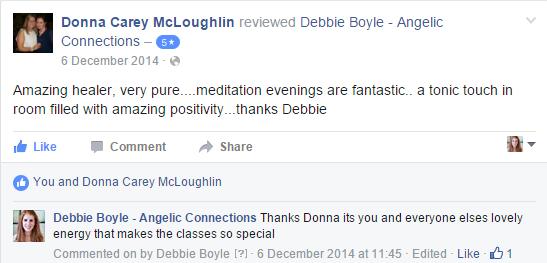 Debbie Boyle Angelic Connections Testimonial 8
